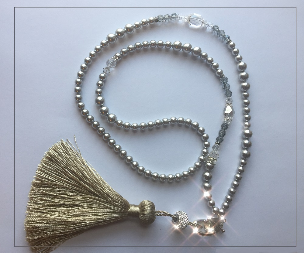 Swarovski Crystal Tassel Necklace Video Tutorial